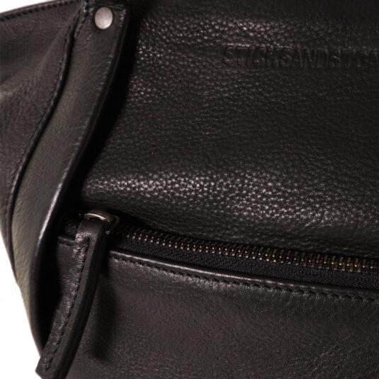 Regina bag - black Sticks and stones