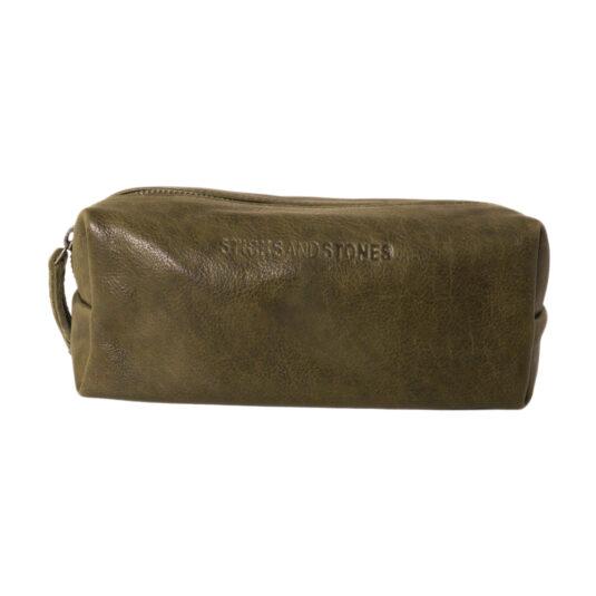 Jersey pouch - dark olive 21478